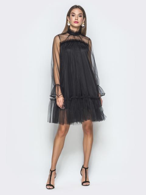 Платья Трапецией Темно