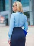 Голубая блузка с кружевом на полочке и манжетами из гипюра 14292, фото 2