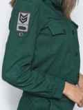 Зеленый комбинезон с стиле сафари 39787, фото 4