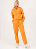 Оранжевый костюм из худи и штанов на резинке 53559, фото 4