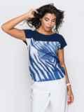 Блузка из софта свободного силуэта, без застёжек 14320, фото 5
