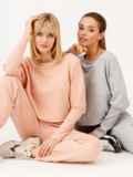 Костюм пудрового цвета из свитшота и штанов 53168, фото 4